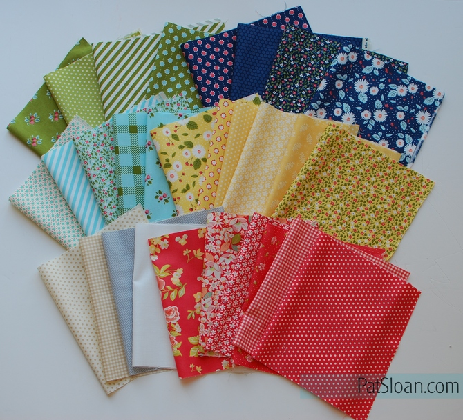 pat sloan contemporary fabric selection
