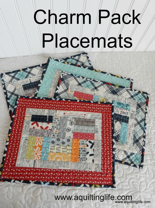 Sherri McConnell Charm Pack Placemats