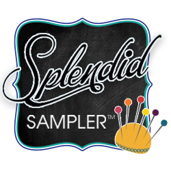 Contributing Designer in The Splendid Sampler