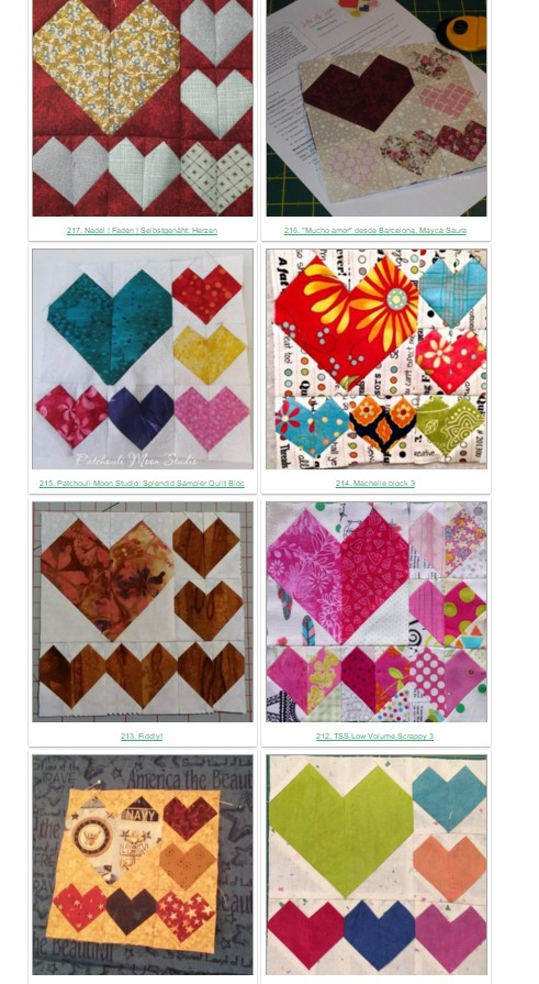 pat sloan splendid sampler blocks shared