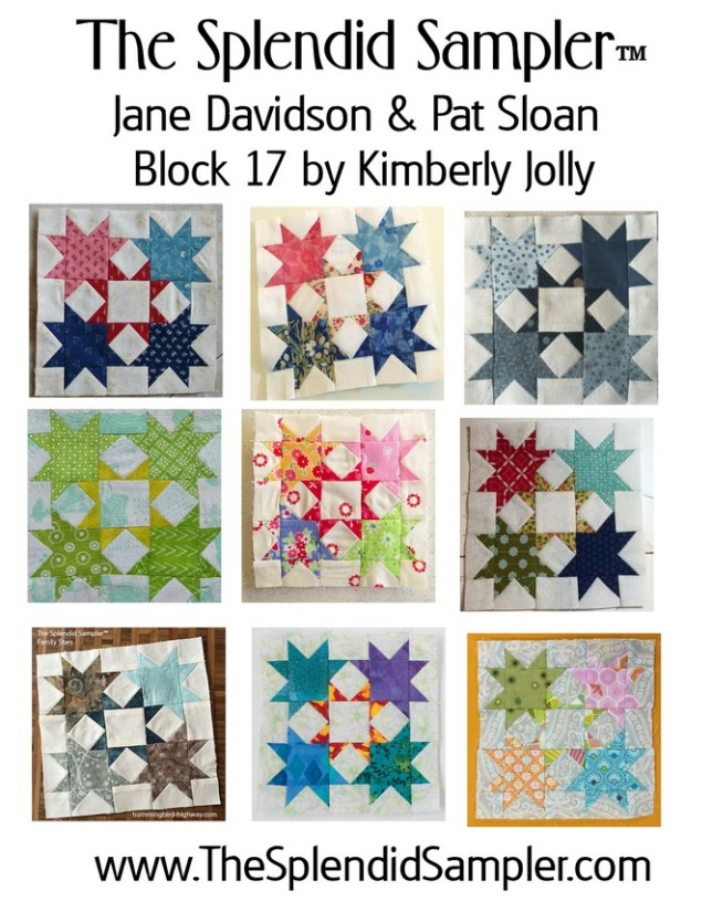17 Splendid Sampler Kimberly Jolly Block multi