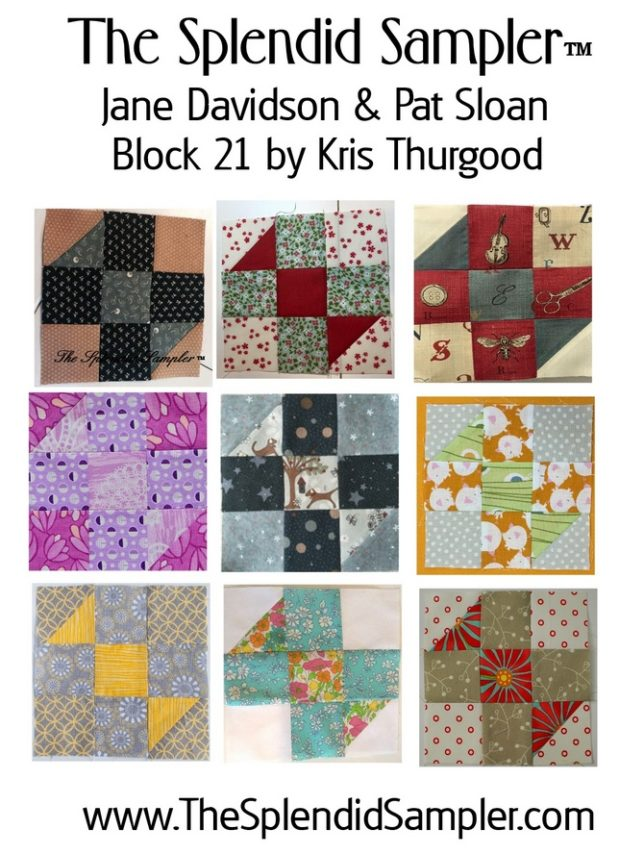 21 Splendid Sampler Kris Tjhurgood Block multi