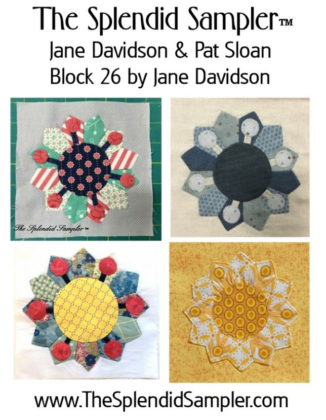 26 Splendid Sampler Jane Davidson Block multi