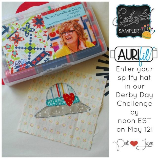 Pat Sloan The Splendid Derby Day Giveaway button