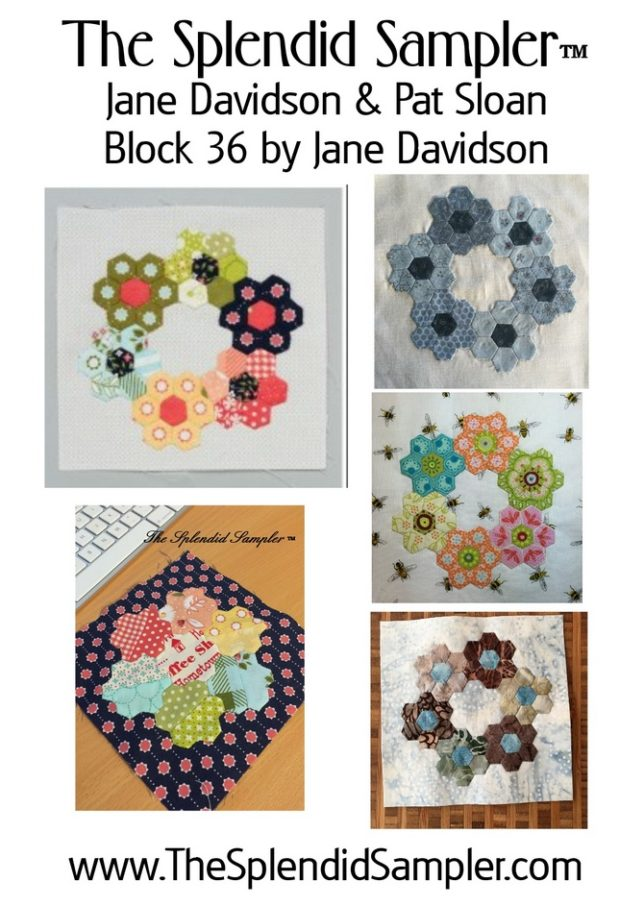 36 Splendid Sampler Jane Davidson Block collage