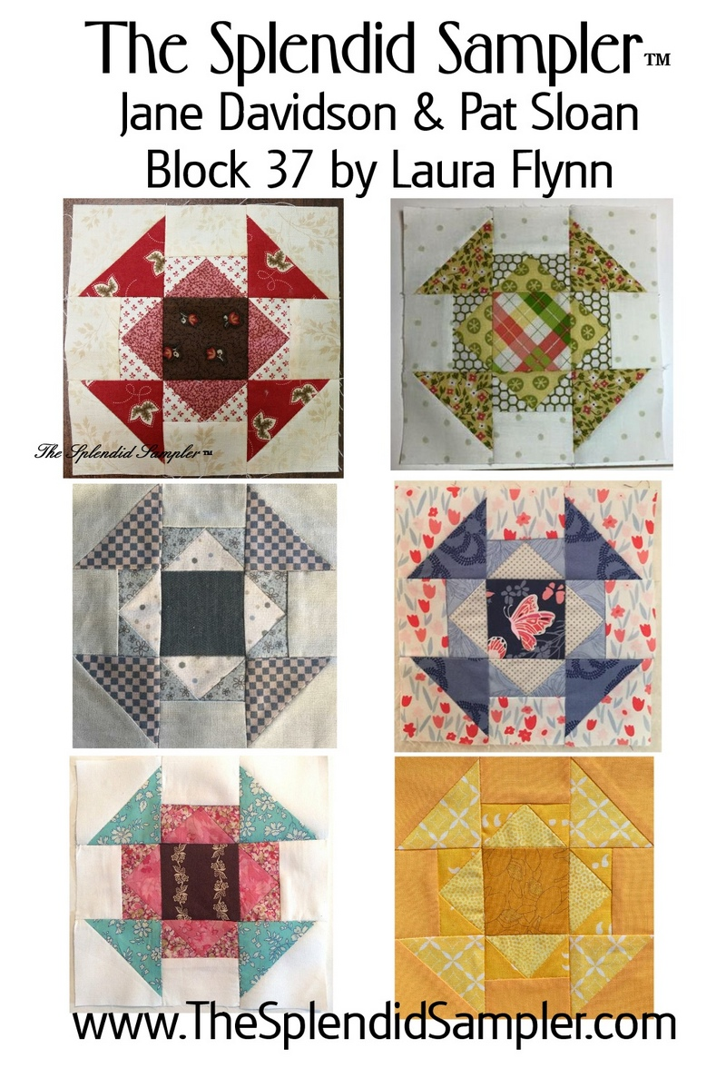 37 Splendid Sampler Laura Flynn Block multi