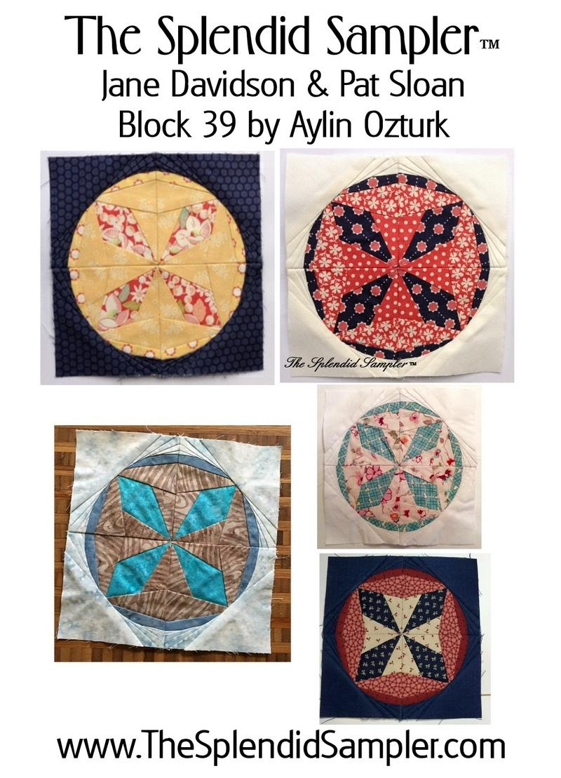 39 Splendid Sampler Aylin Ozturk Block multi