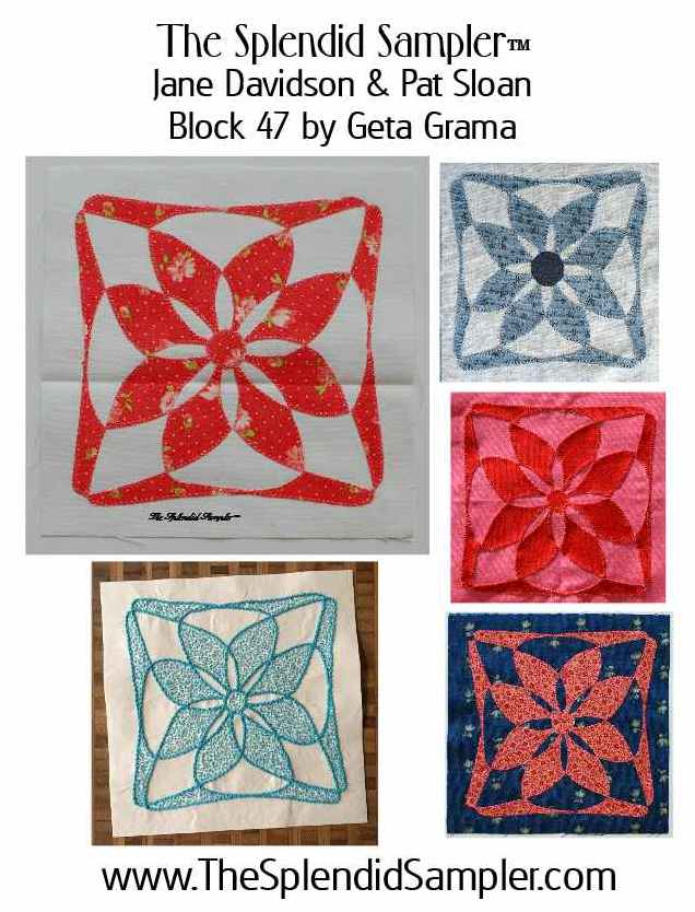 47 Splendid Sampler Geta Grama block multi