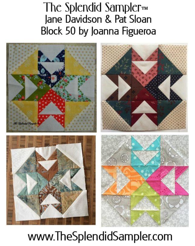 50 Splendid Sampler Joanna Figueroa block multi