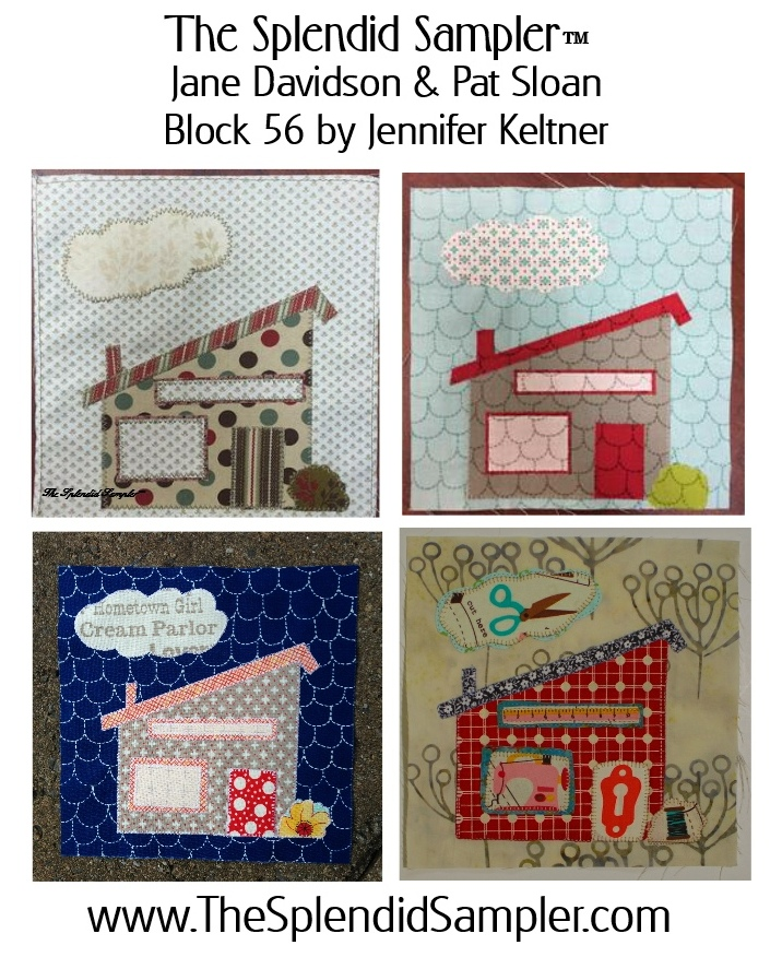 56 Splendid Sampler Jennifer Keltner block multi