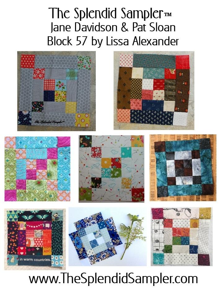 57 Splendid Sampler Lissa Alexander block multiv2