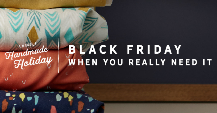 craftsy black friday
